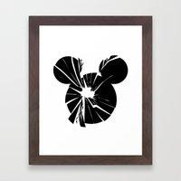 Mickey Is Dead No.1 Framed Art Print