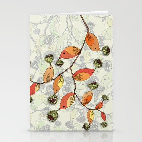 Autumn Stationery Card