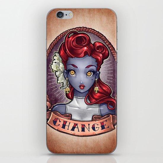 CHANGE pinup iPhone & iPod Skin
