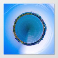 Little Planet of Montreal Canvas Print