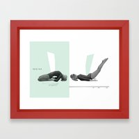 Yoga Framed Art Print