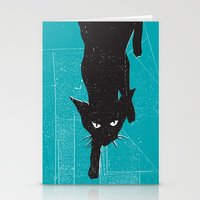 Black Kat Stationery Cards