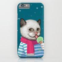 Ice Cream & Snow iPhone 6 Slim Case