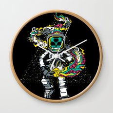Space Madness! Wall Clock