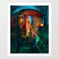 Art Print featuring Gypsy Firefly by Aimee Stewart