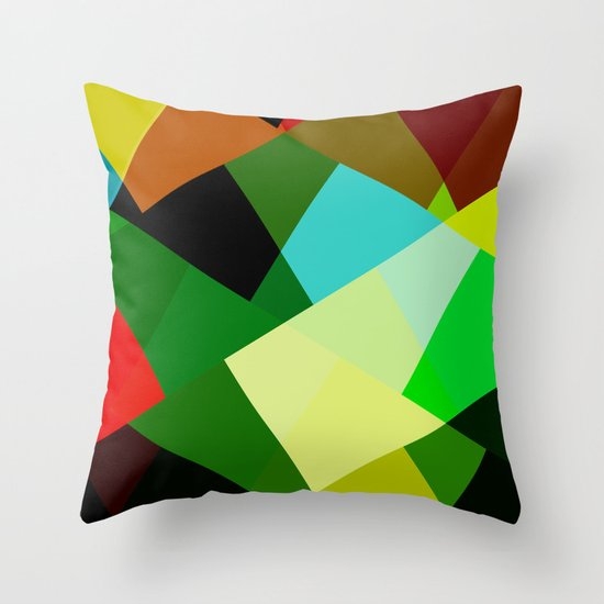Colors! Throw Pillow
