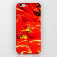 Hot Red  iPhone & iPod Skin