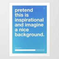 Blueprint For Success Art Print