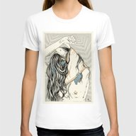 Take Off Womens Fitted Tee White SMALL