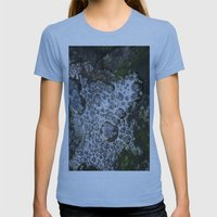 Bubbles Womens Fitted Tee Athletic Blue SMALL