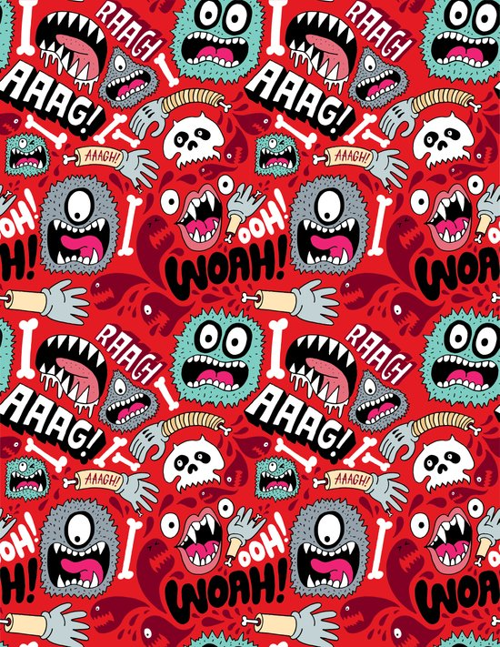 AAAGHHH! PATTERN! Canvas Print
