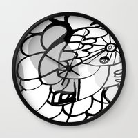 A Lot Of Things Wall Clock