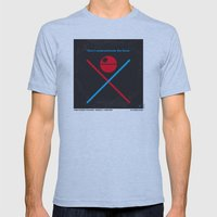 No154 My ST E-IV Minimal… Mens Fitted Tee Athletic Blue SMALL
