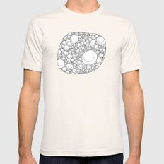 Sticking Together Mens Fitted Tee Natural SMALL