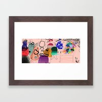 Funeral Framed Art Print