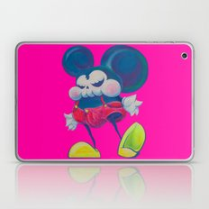 fatty skinny mickey skull Laptop & iPad Skin