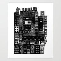 Neighborhood II Art Print