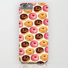 Donut Pattern Slim Case iPhone 6s