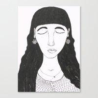 Mim Canvas Print