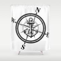 Nautica BW Shower Curtain