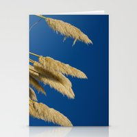 A soft breeze, against a cobalt sky. Stationery Cards