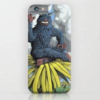 Monster on Oblique Dandelion iPhone 6 Slim Case