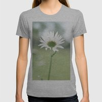 Boxed faith Daisy Womens Fitted Tee Athletic Grey SMALL