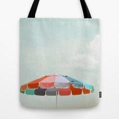 beach umbrella Tote Bag