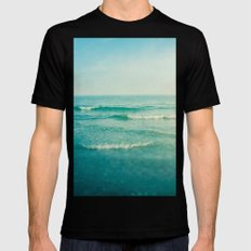 only this moment 2 SMALL Mens Fitted Tee Black