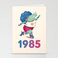 1985 Stationery Cards
