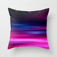 purple sunset II Throw Pillow