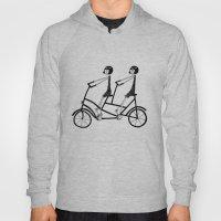 tandem bicycle Hoody