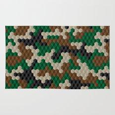 Cubouflage Rug