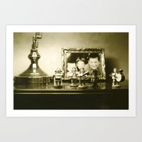 On The Shelf Art Print