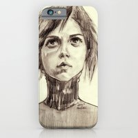 iPhone & iPod Case featuring Looking into a Blue Sky by Smog