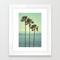 Three Day Weekend Framed Art Print