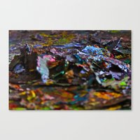 Spring Cleaning, Painting Style #2 Canvas Print