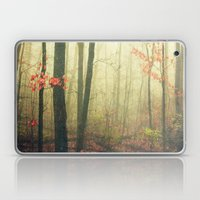 The Woods Are Lovely Dar… Laptop & iPad Skin