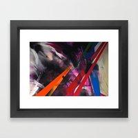 Razor Framed Art Print