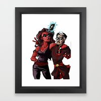 This One's For Facebook Framed Art Print