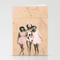 Imaginary Friends- Playm… Stationery Cards