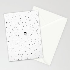 The universe - white Stationery Cards