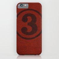 Number Series: #3 iPhone 6 Slim Case