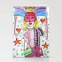 Zircon Princess Stationery Cards