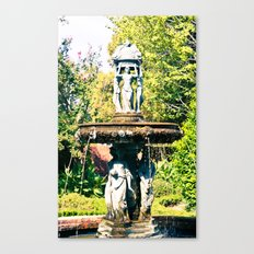 Cajun Fountain Canvas Print