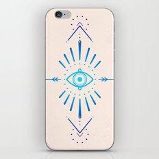 Evil Eye Blue iPhone & iPod Skin