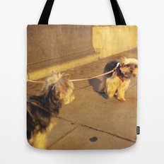 Cute Yorkshire lovers Tote Bag
