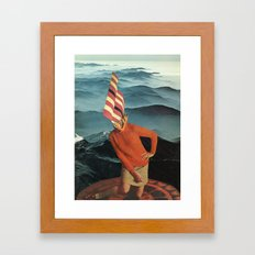 Fire Rites Framed Art Print