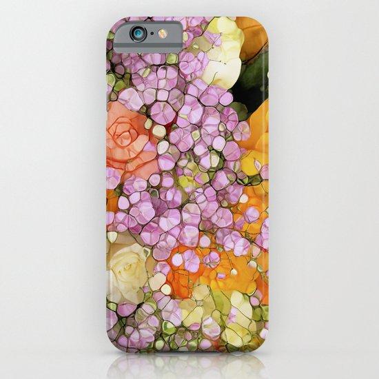 Mosaic Vintage-  Floral Spring Sparkles iPhone & iPod Case