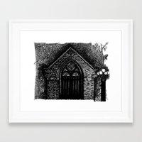 673 mohawk street Framed Art Print